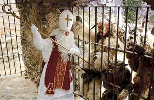 San Nicolò con i Krampus