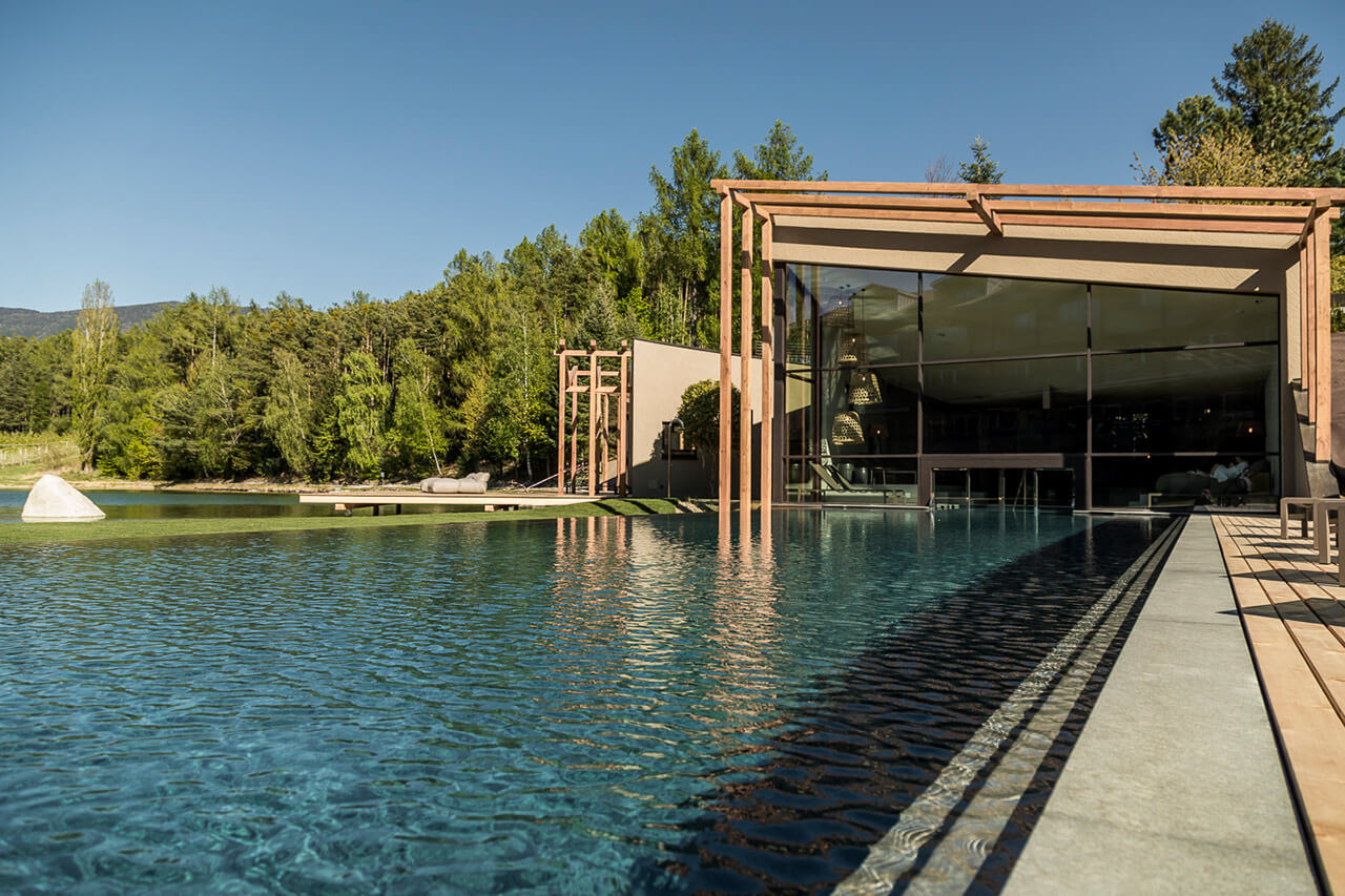 Hotel Con Piscina A Bressanone Valle Isarco Seehof Nature Retreat