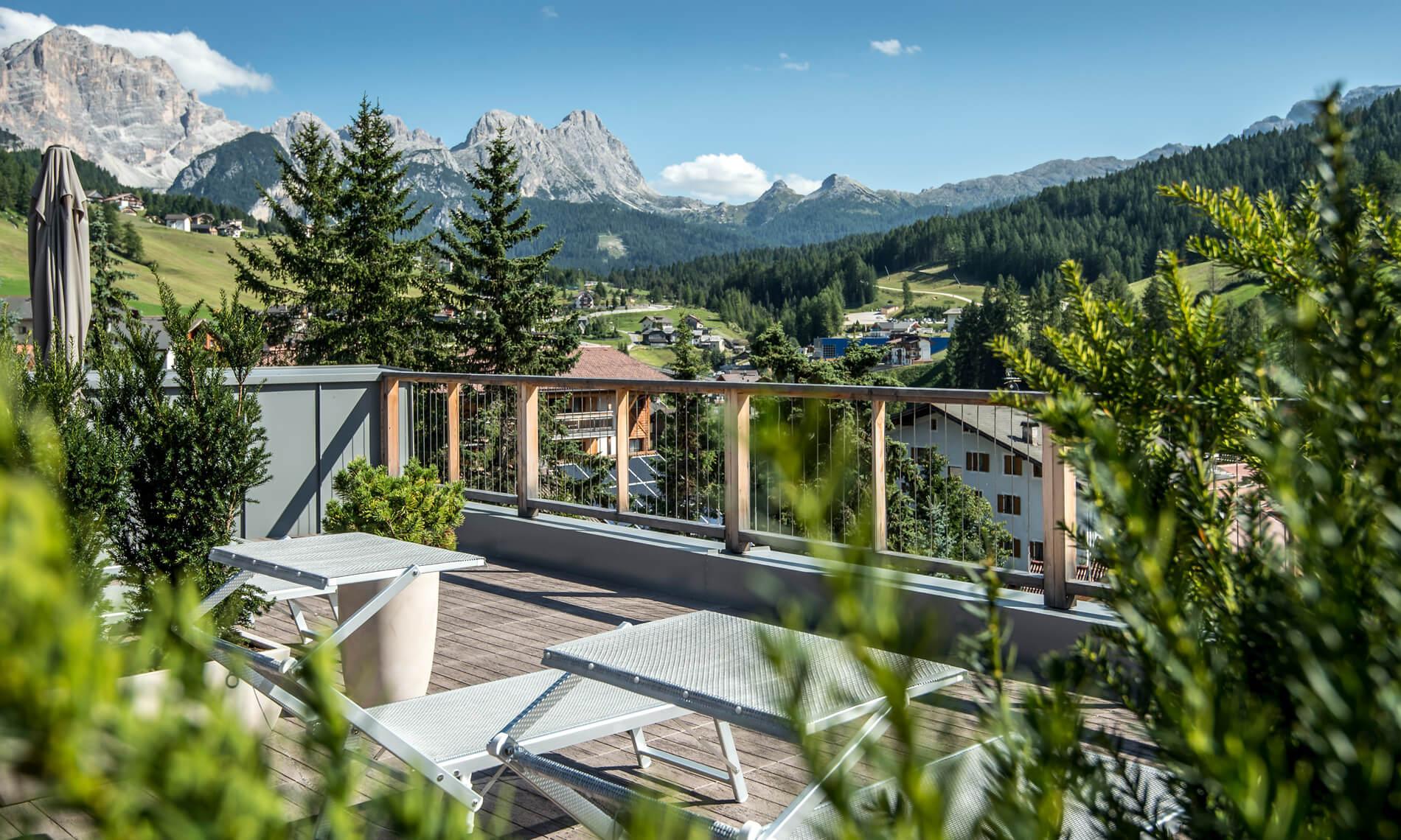 Wohnen Im Herzen Der Dolomiten Unesco Hotel Diamant