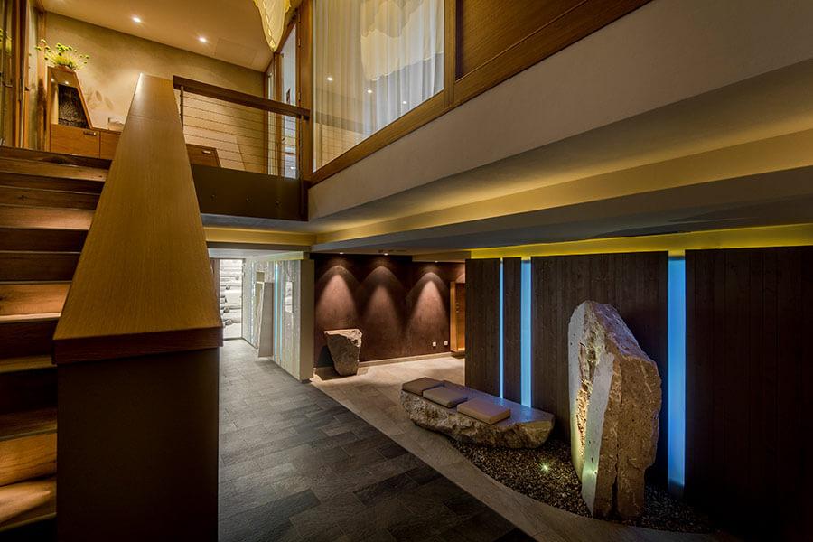 Gym solarium & sauna in alta badia hotel diamant