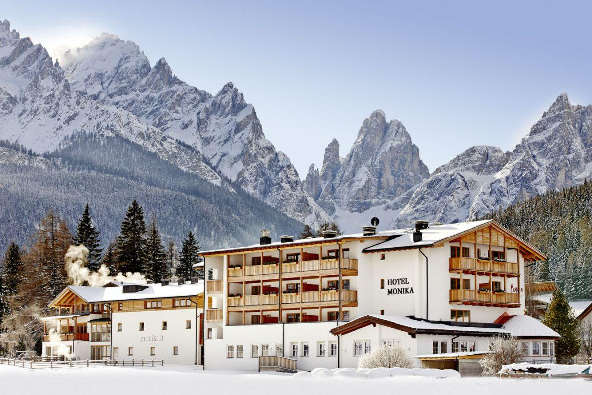 Designhotel monika in sexten vivohochpustertal for Designhotel skifahren