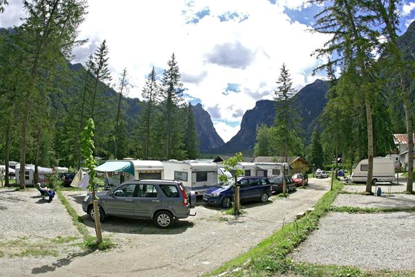 Campeggio Lago di Dobbiaco